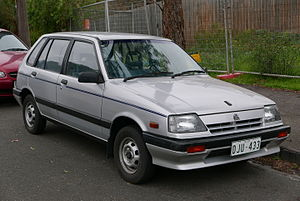 Holden Barina - 1986–1988 Holden Barina (ML)