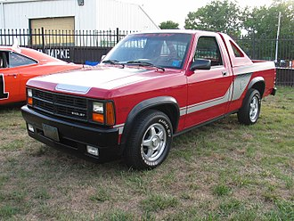 Shelby Dakota - Image: 1989 Dodge Dakota Shelby