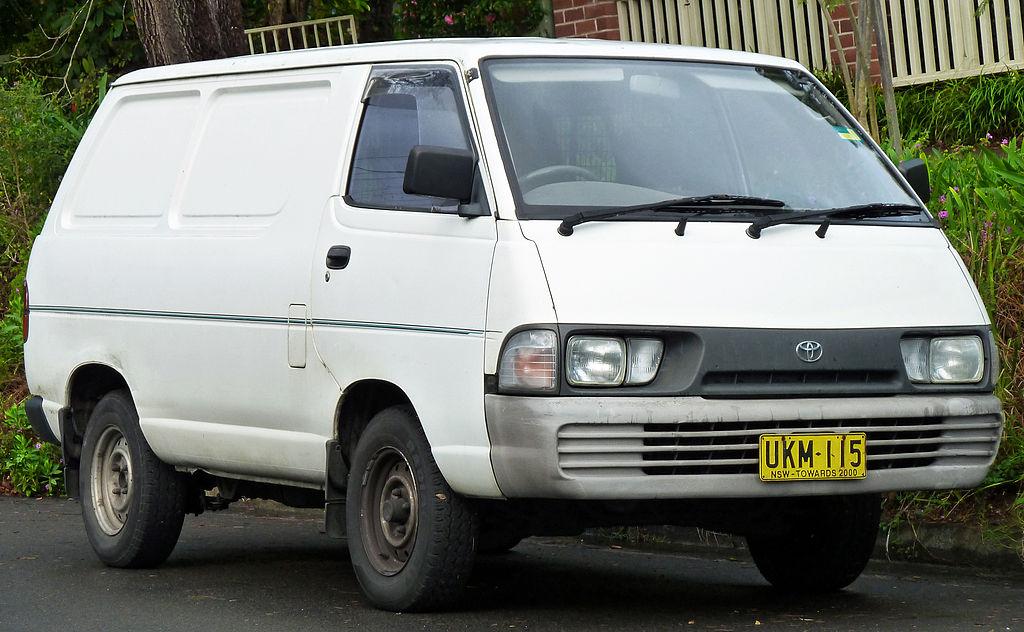 Cool File19871990 Toyota Tarago YR22RG RV Van 20101228