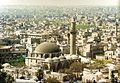 1996 in Aleppo, Syria. Al-Adiliyah Mosque. Spielvogel.jpg