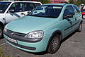2002 Holden Barina (XC) 3-door hatchback (2008-12-19).jpg