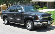 Chevrolet avalanche wikipedia gmt800 chevrolet avalanche wbh sciox Choice Image