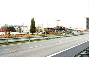 Strelasund Crossing - Approach on the Stralsund side, approach bridges (5 November 2005)