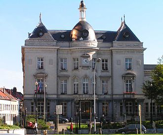 Saint-Josse-ten-Noode - Town hall of Saint-Josse
