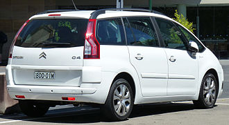 Citroën C4 Picasso - Citroën Grand C4 Picasso (Australia; pre-facelift)