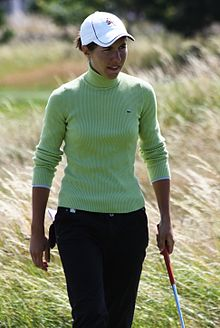 2009 Women's British Open - Carlota Ciganda (2).jpg