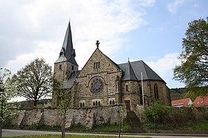 Rödinghausen - Lutheran Church of St. Bartholomäus in Rödinghausen
