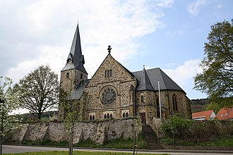 Rödinghausen - Lutheran Church of St. Bartholomäus in Rödinghausen