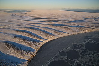 Stolbovoy Island - The undulated and desolate terrain of Stolbovoy.