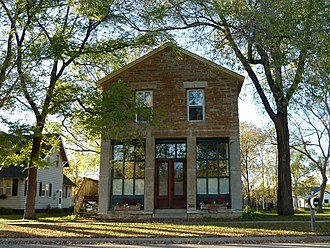 Dundas, Minnesota - The Ault Store is the only remaining commercial building from Dundas' original business district.