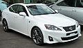 2010-2011 Lexus IS 250 (GSE20R MY11) F Sport sedan (2011-04-22).jpg