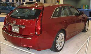 GM Sigma platform - 2010 Cadillac CTS Wagon