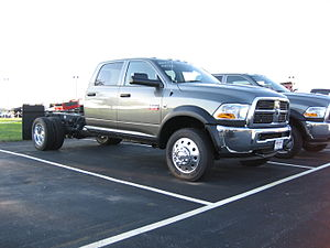 Ram Pickup - A late model, 2011 Ram 5500 truck