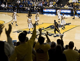 Murray State Racers men's basketball - A Murray State basketball game in 2011.