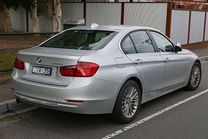 BMW 3 Series (F30) - Pre-facelift BMW 320d Luxury Line sedan (Australia)