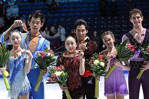 Andrei Deputat - Davankova/Deputat, bronze medalists at the 2012 World Junior Championships