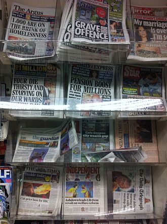 The Argus (Brighton) - Image: 2012 newsstand 6751560847