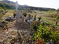 2013-01-05 Wood stûpa Graves in Ogo,Kobe,Hyogo prefecture 神戸市北区淡河町の墓地と木製卒塔婆 DSCF4033.JPG