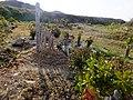 2013-01-05 Wood stûpa Graves in Ogo,Kobe,Hyogo prefecture 神戸市北区淡河町の墓地と木製卒塔婆 DSCF4033.JPG