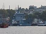 2013-08-29 Севастополь. Вспомогательное судно A512 Mosel ВМС Германии (1).JPG