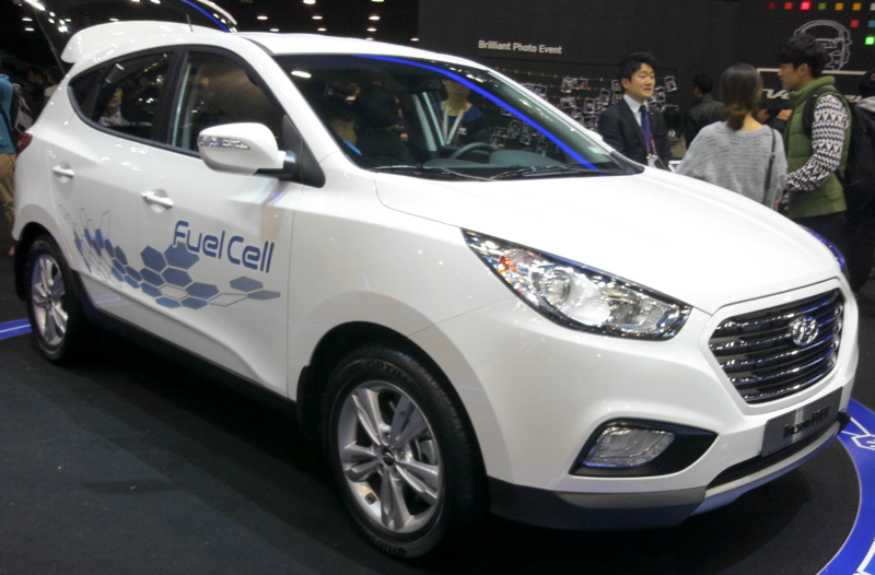 Hydrogen Cars | Hyundai ix35 courtesy of Wikipedia