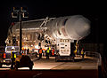 20131217 Antares CRS Orb-1 rocket rollout (201312170011HQ).jpg