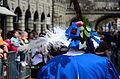 2013 Sechseläuten - Gesellschaft zu Fraumünster - Ehrenwache 'Der Grosse, Allmächtige und Unüberwindliche Rat von Zug' - Uraniastrasse 2013-04-15 14-49-58.JPG