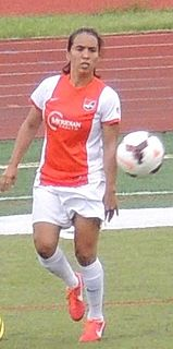 Mónica Ocampo National Womens Soccer League player and member of the Mexican national football team
