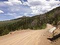 2014-06-24 12 51 23 View north along Elko County Route 748 (Charleston-Jarbidge Road) about 13.9 miles north of Charleston, Nevada.jpg
