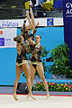 2014 Acrobatic Gymnastics World Championships - Women's group - Qualifications - France 1 01.jpg