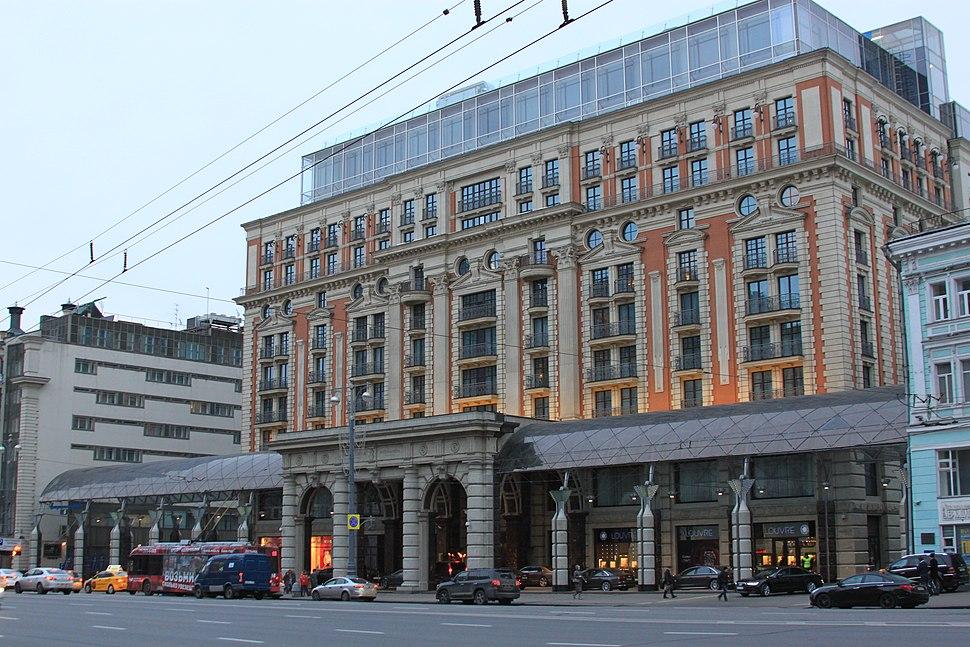 2014 Moskva Ritz-Carlton building