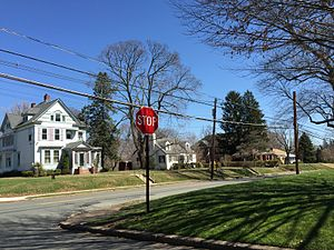 West Trenton, New Jersey - Homes along Grand Avenue