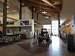 2015-05-05 10 53 54 Interior of the terminal at the Elko Regional Airport in Elko, Nevada.jpg