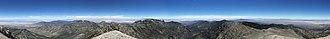 Mount Charleston - Image: 2015 07 13 12 07 12 360 degree panorama from around the summit of Charleston Peak, Nevada