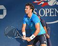 2015 US Open Tennis - Qualies - Jose Hernandez-Fernandez (DOM) def. Jonathan Eysseric (FRA) (20779219648).jpg