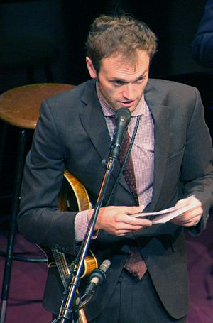 Chris Thile - Thile hosting A Prairie Home Companion in 2016