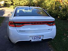 Dodge Dart Turbo >> Dodge Dart Pf Wikipedia