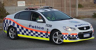 Highway patrol - Western Australia Police, Holden Commodore of the Traffic Enforcement Group
