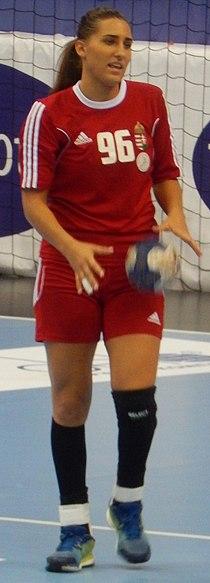 2016 Women's Junior World Handball Championship - Group A - HUN vs NOR - Gabriella Tóth.jpg
