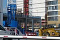 2016 Woolwich, construction Crossrail station - 4.jpg