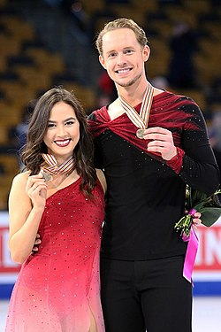 2016 Worlds - Madison Chock and Evan Bates - 01.jpg