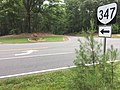 2017-07-05 07 45 03 View north along Virginia State Route 347 (State Park Road) at Virginia State Route 3 (Kings Highway) at the entrance to Westmoreland State Park in Baynesville, Westmoreland County, Virginia.jpg