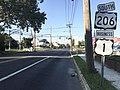 2017-09-10 07 55 39 View south along U.S. Route 1 Business, U.S. Route 206 and Mercer County Route 583 (Princeton Avenue) at Mulberry Street in Lawrence Township, Mercer County, New Jersey.jpg