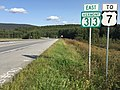2017-09-10 16 35 49 View east along Vermont State Route 313 at Warm Brook Road in Arlington, Arlington County, Vermont.jpg