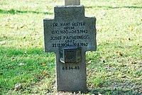 2017-09-28 GuentherZ Wien11 Zentralfriedhof Gruppe97 Soldatenfriedhof Wien (Zweiter Weltkrieg) (038).jpg