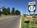 2018-07-19 10 32 17 View south along New Jersey State Route 17 (Rutherford Avenue) between Polito Avenue and Orient Way on the border of Lyndhurst Township and Rutherford in Bergen County, New Jersey.jpg
