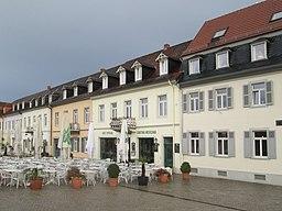 Schlossplatz in Schwetzingen