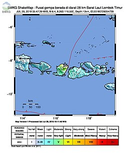 2018 Lombok earthquake ShakeMap.jpg