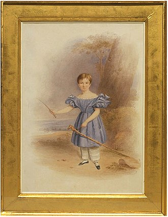 Pantalettes - Young boy in pantalettes, 1836