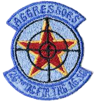 26th Tactical Fighter Training Aggressor Squadron - Emblem